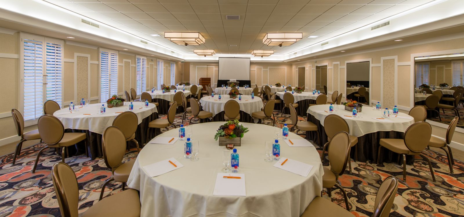 Meeting space at The Garland - Ballroom